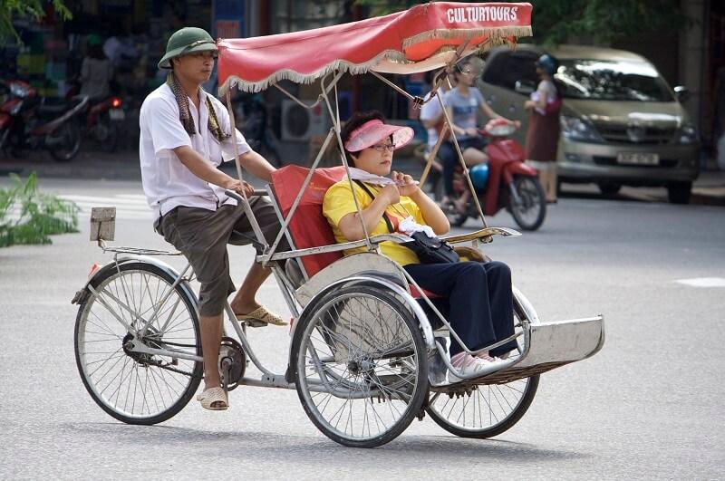 Bicicleta y Cyclos en Vietnam 