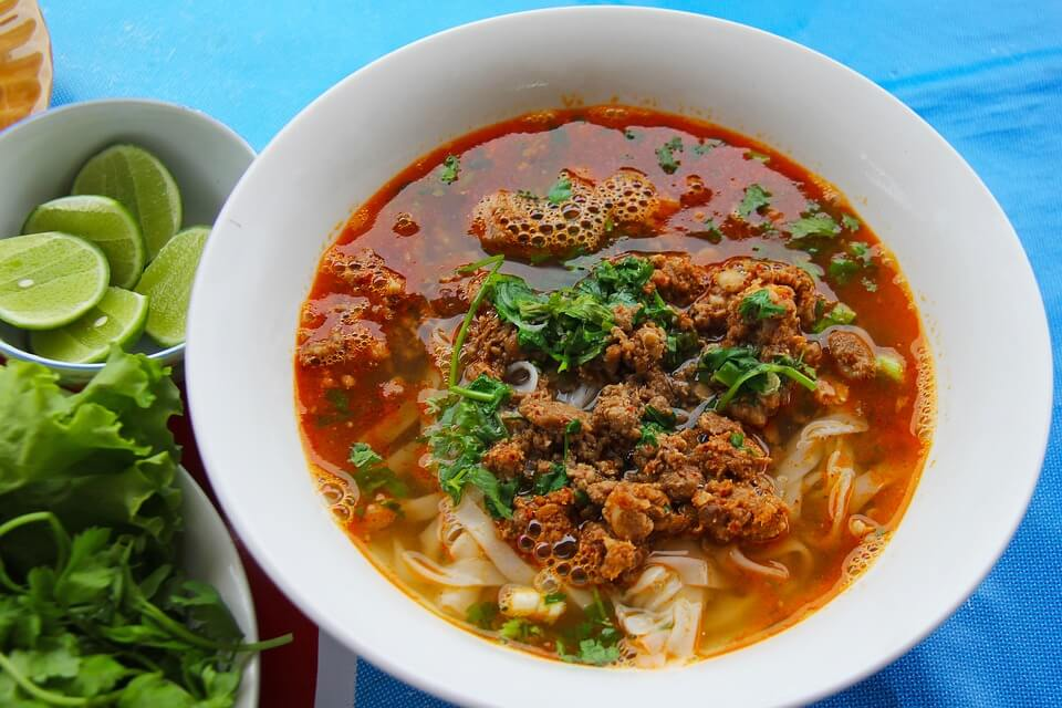 La famosa sopa Cau Lao